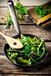 green beans, stewed with panchetta by Kimberly Potvin on 500px