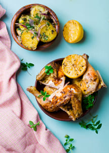 chicken a grill with a lemon by Kimberly Potvin on 500px