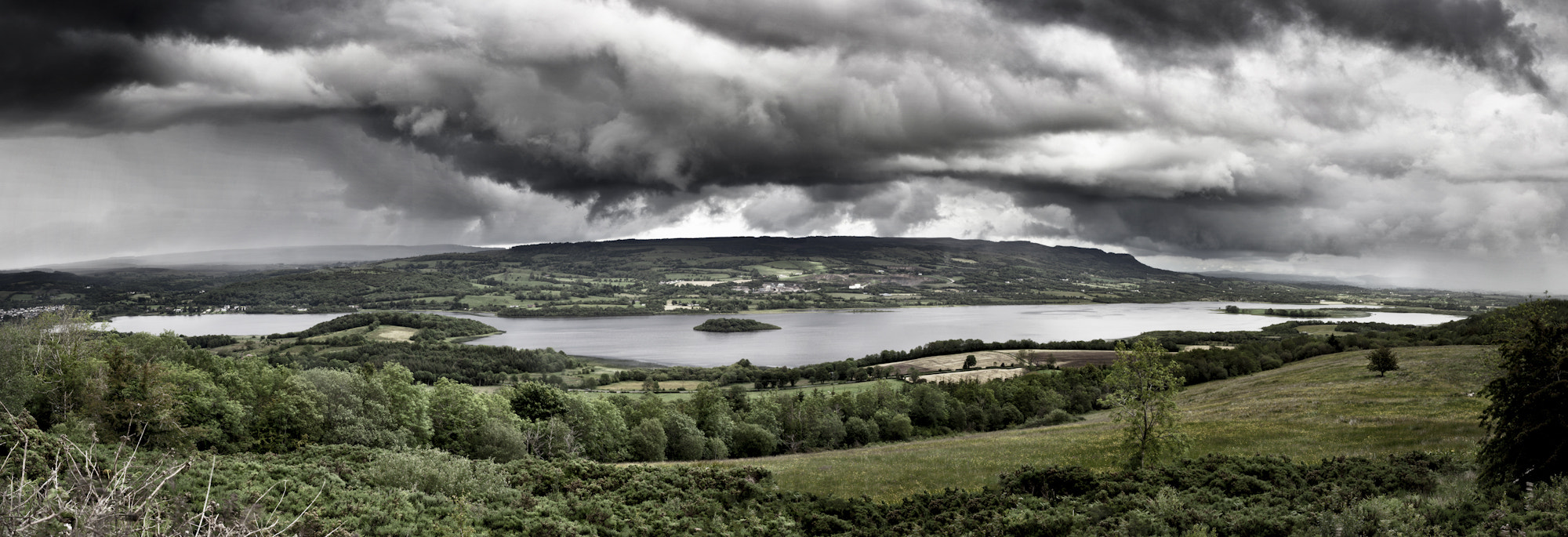 Photograph Marlbank Viewpoint Panoramic by Stephen Lyons on 500px