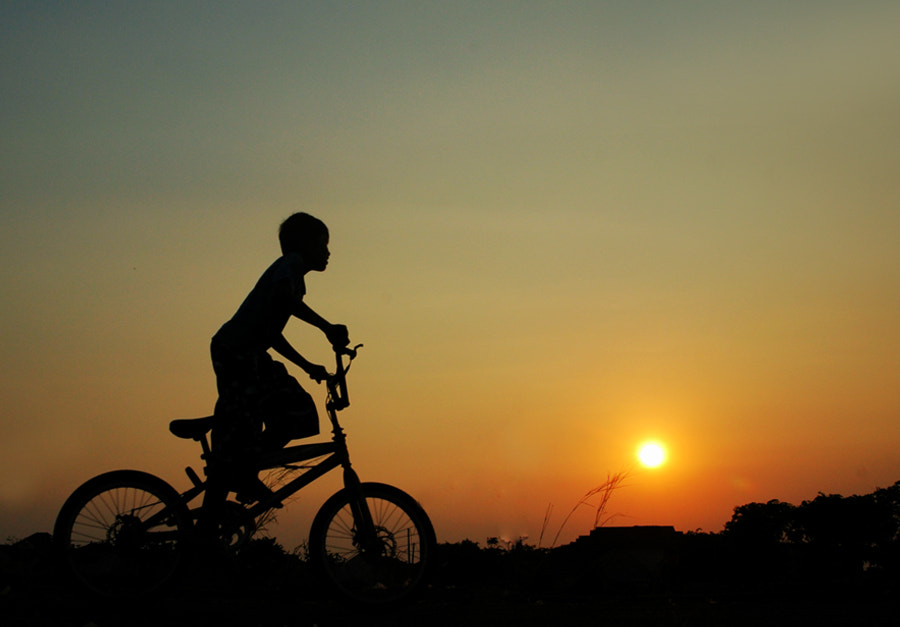 Photograph Crossing Sunset by Edi Wibowo on 500px