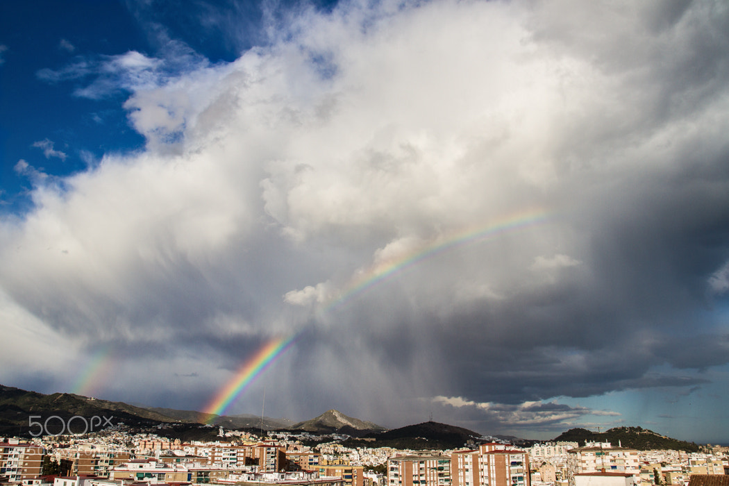 Photograph Arcoiris vs Tormenta by oSKaR MG on 500px