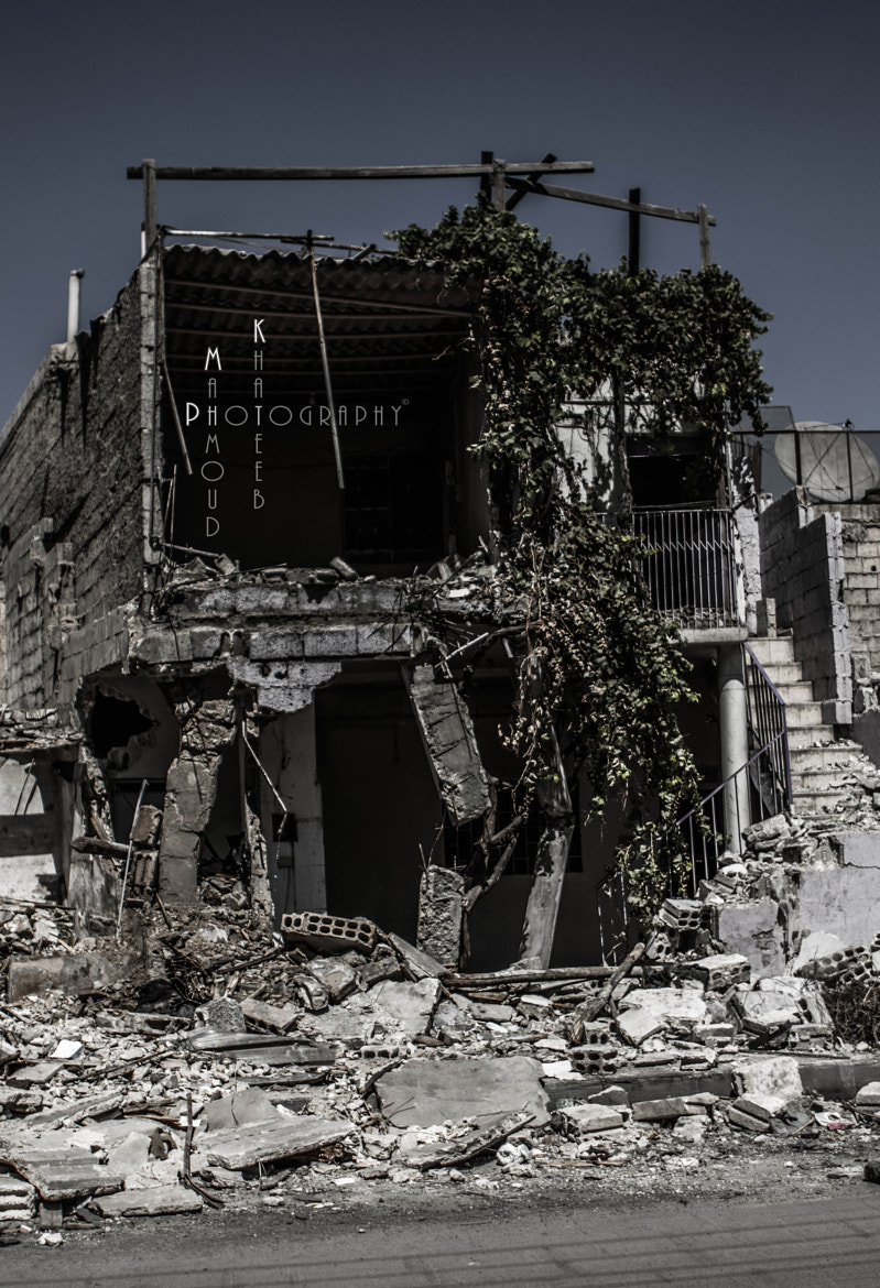 Photograph A House ... Not Anymore !! (II) by Mahmoud Khateeb on 500px