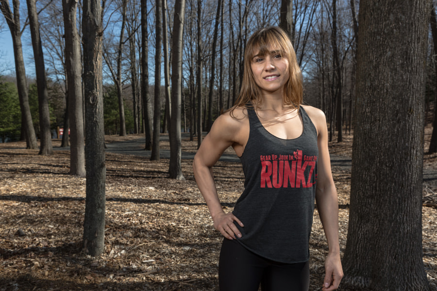 RUNKZ Running Shirt Product Promo