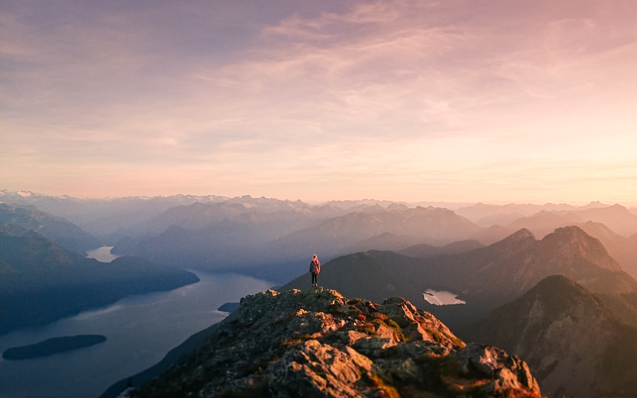 Golden Ears Sunrise by Lizzy Gadd on 500px.com