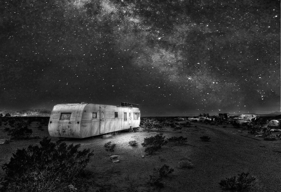 Photograph hundred dollar trailer,million dollar view by bill geal on 500px