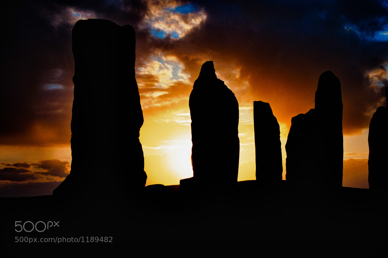 Photograph Callanais Standing Stones by Thomas Bruin on 500px