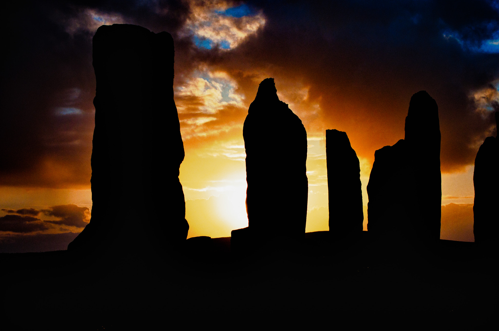 Photograph Callanais Standing Stones by Thomas Bruin on 500px