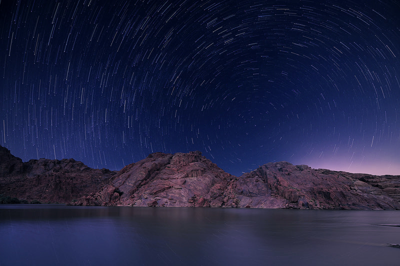 Photograph Night with the Stars by Nasser  AlOthman on 500px