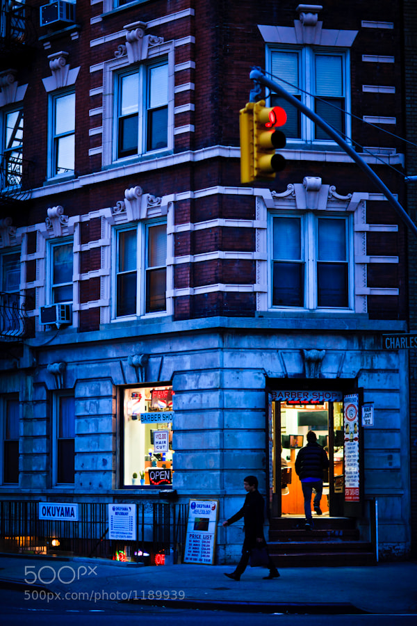 Photograph Barber Shop at Charles Street by Tom Harrison on 500px