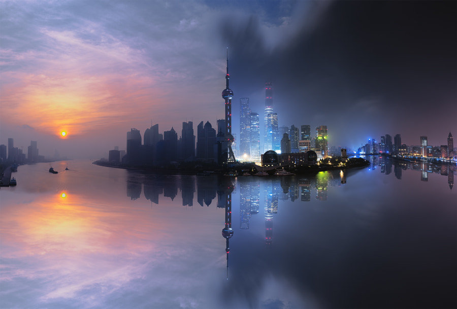 Good Night Shanghai_[By-Day-By-Night] by Herison Black on 500px.com