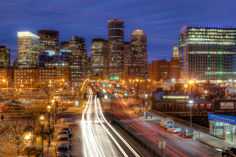 Photograph Seaport Blvd, Boston by Stanton Champion on 500px