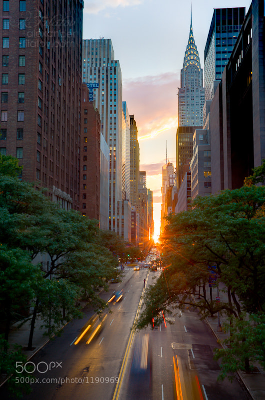 Photograph Manhattanhenge by Alex Filatov on 500px