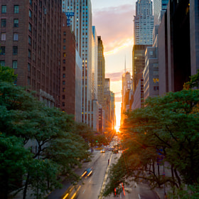 Manhattanhenge by Alex Filatov (Filatov)) on 500px.com