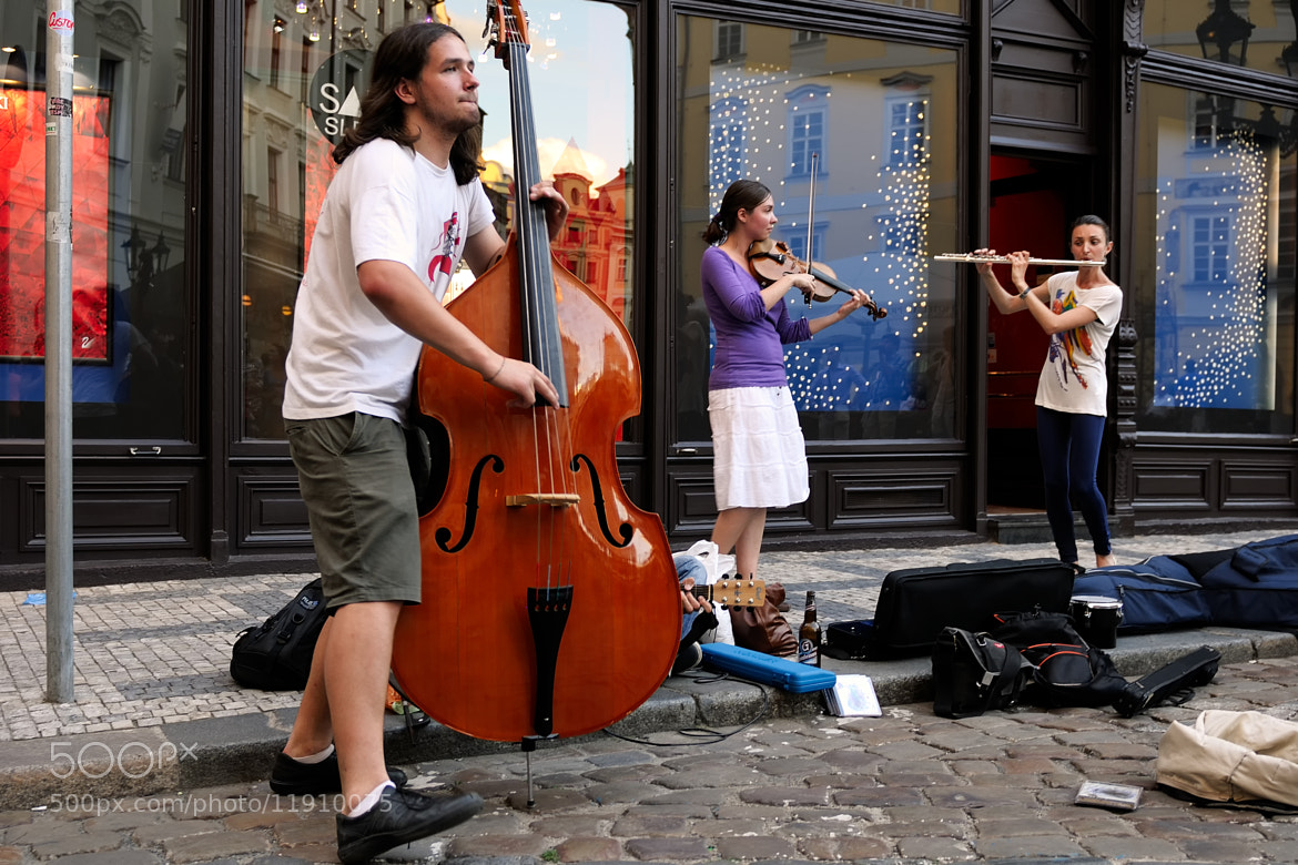 Photograph Músicos en la calle VI by Adolfo Moreno on 500px