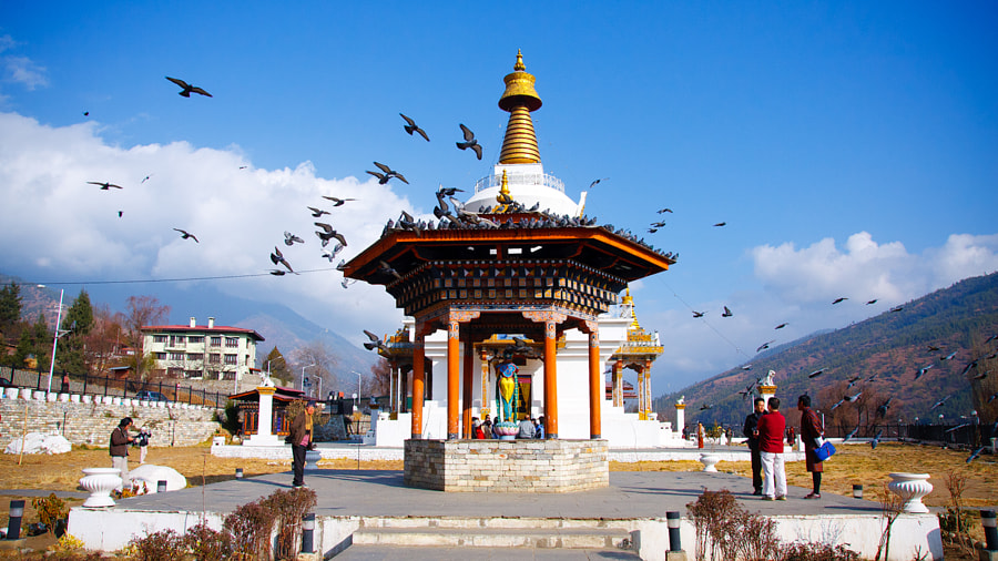 Memorial Chorten - Thimphu by Akari the Great on 500px.com