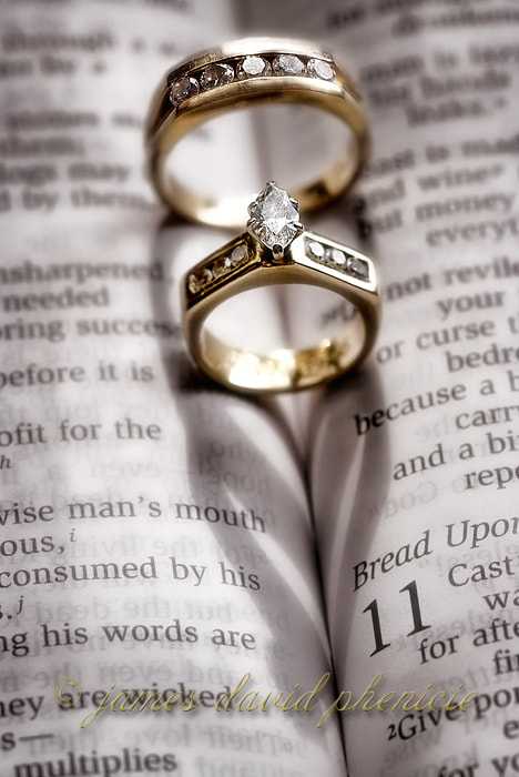 Wedding Series:  Rings and Hearts