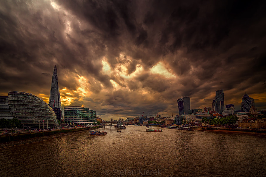 The Thames in London