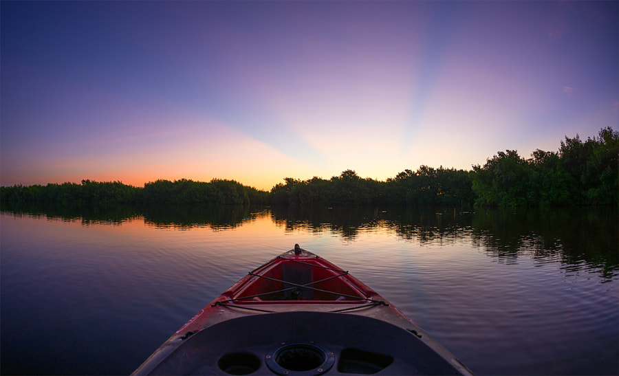 Sunrise at the Everglades by Anish Patel on 500px.com