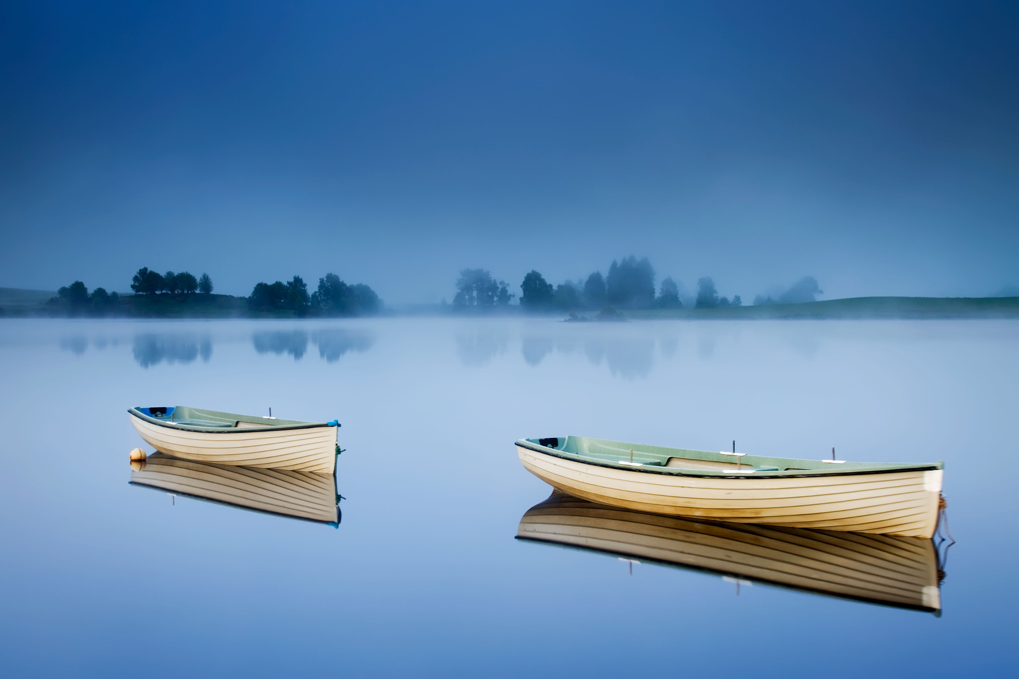 Photograph The Blue Hour... Loch Rusky, Trossachs by David Mould on 500px