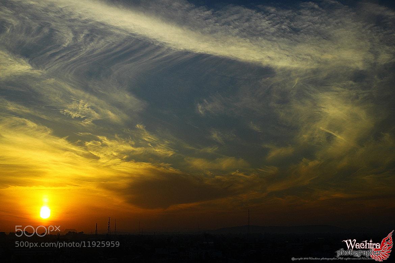 Photograph  อรุณสวัสดิ์ by Wachira Tasee on 500px