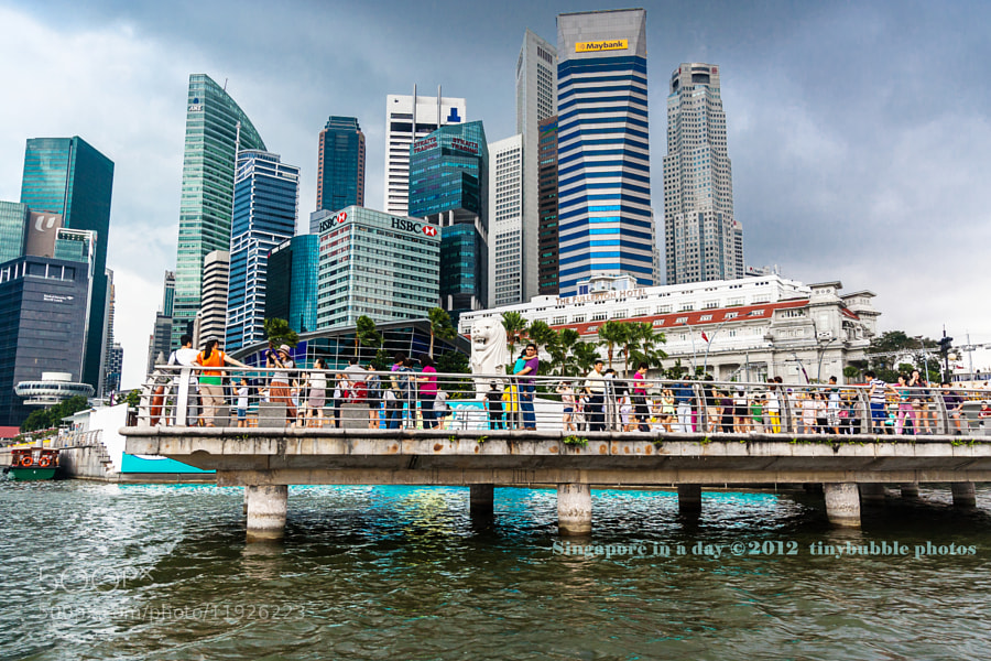 Photograph A day in Merlion Park by Virna Tendean on 500px