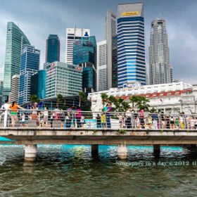 A day in Merlion Park by Virna Tendean (tinybubble)) on 500px.com