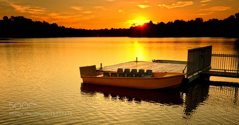 Photograph Twilight (Sunset) @ Lower Peirce Reservoir (贝雅士蓄水池下段) #05 by Eddie Cheng on 500px