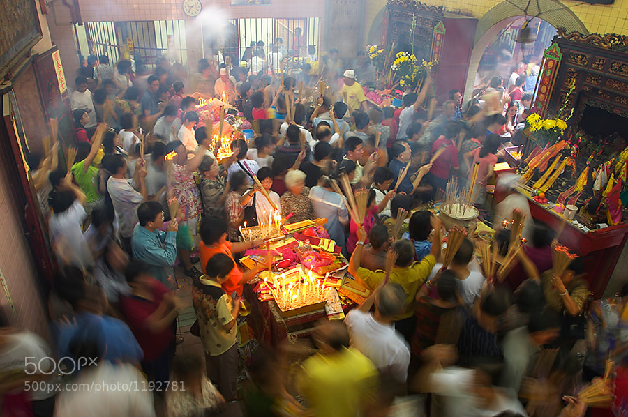Photograph Sea of Devotees by Tim Chong on 500px