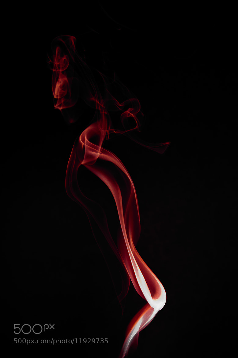 Photograph Red Smoke by Salvatore Grigoli on 500px