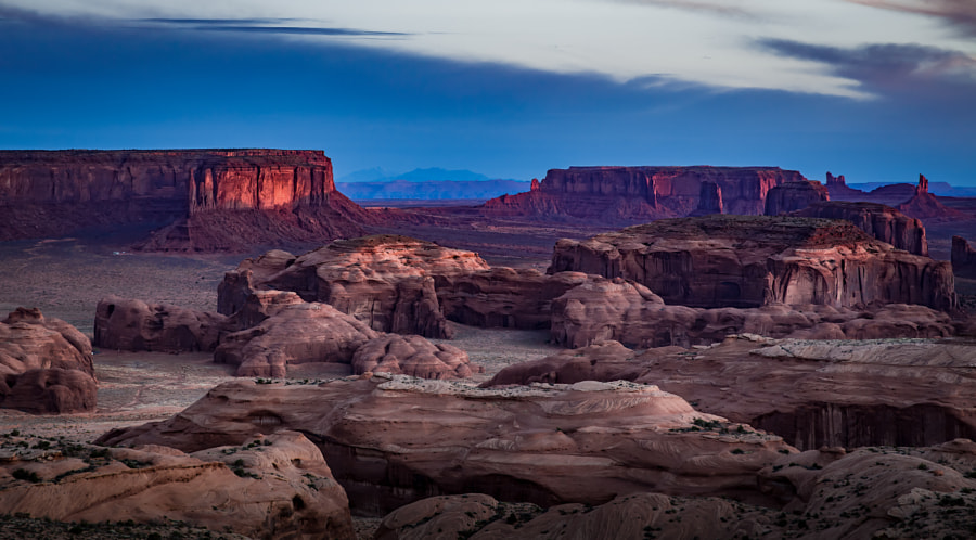 First Light – Monument Valley by Pat Kofahl on 500px.com