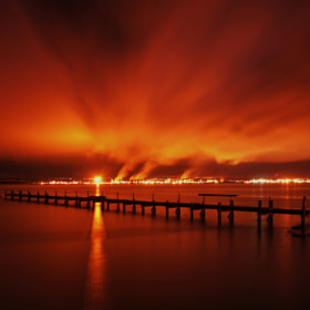 UNDER A REFINERY SKY by KENNY BARKER (kennybarker)) on 500px.com
