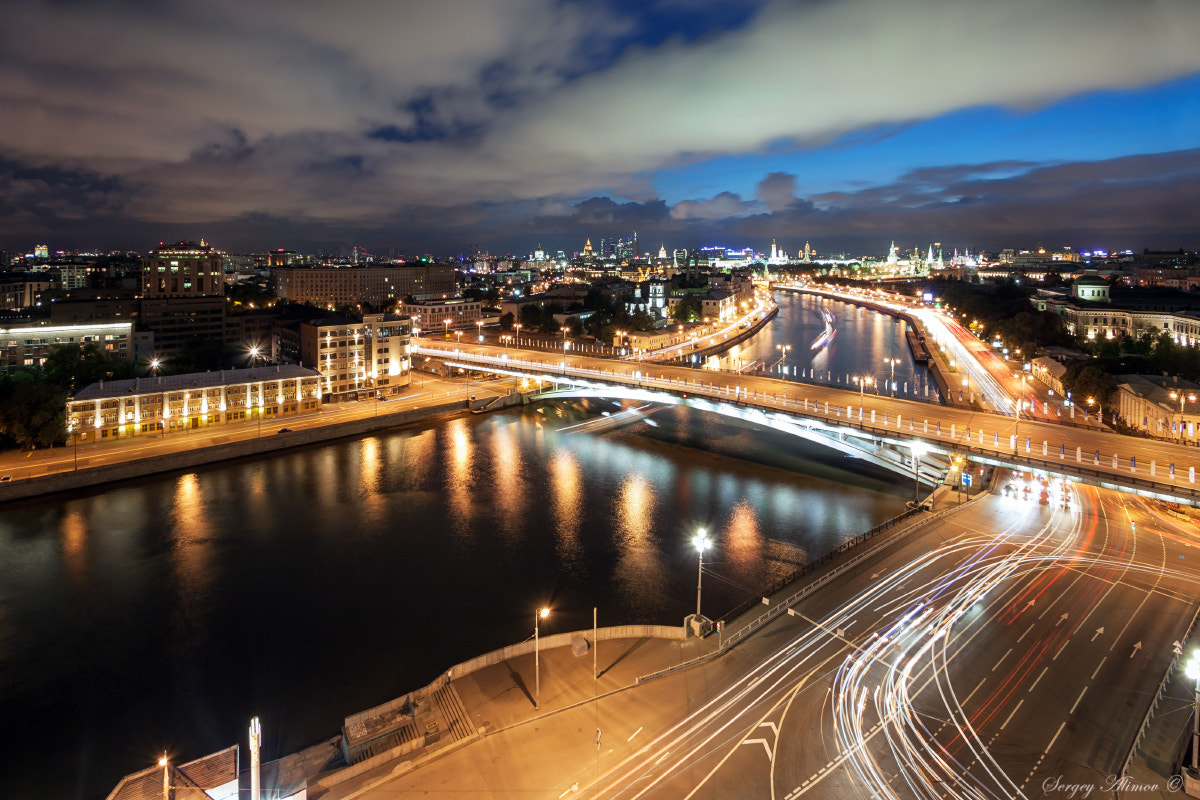 Photograph Night Flames of the City by Sergey Alimov on 500px