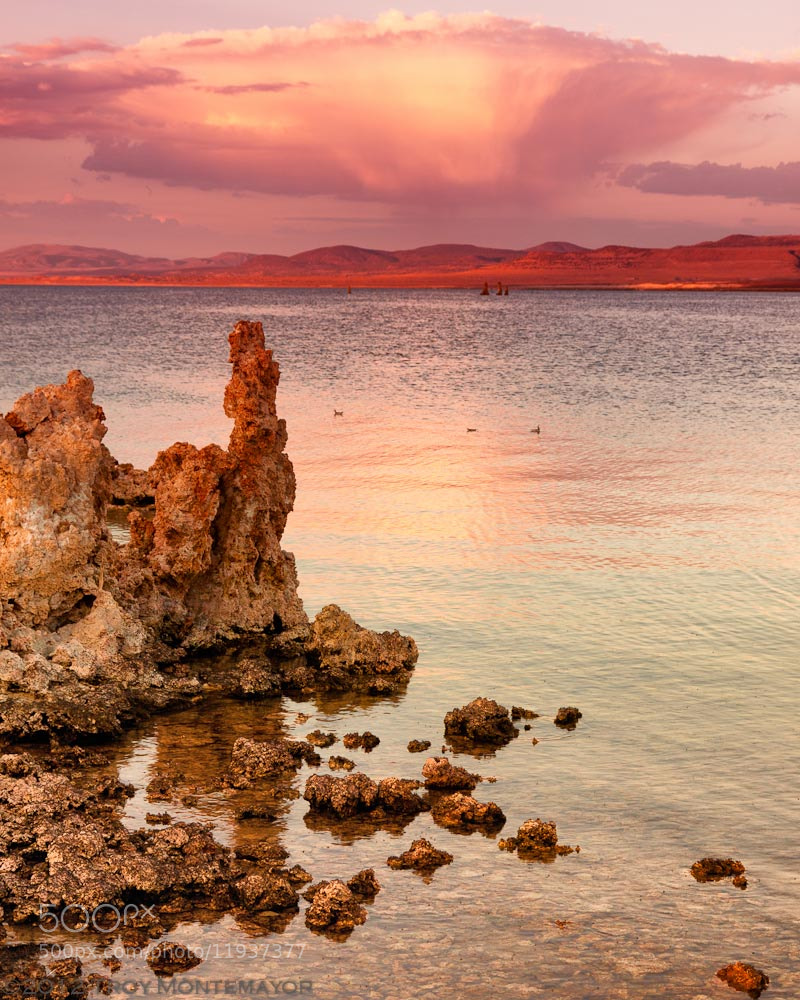 Photograph Storm Clouds and Tufa, Mono Lake, CA by Troy Montemayor on 500px