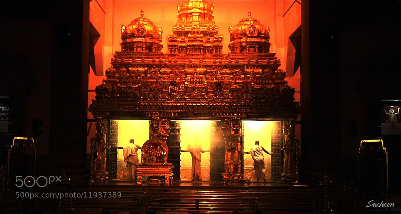 Photograph iskon temple bengluru by Sacheen Vaidya on 500px
