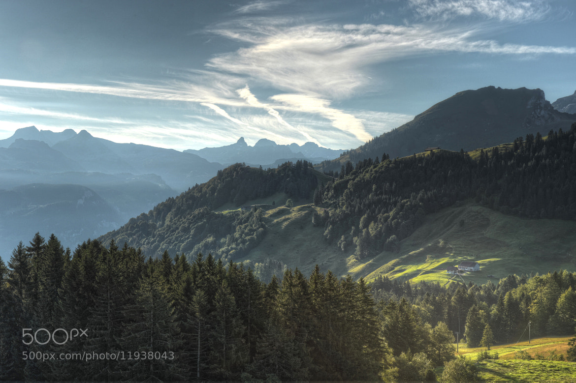 Photograph View from Stoos by Daniel J Mueller on 500px