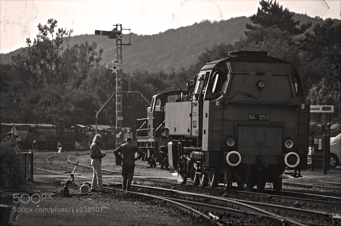 Photograph Let's hit the rails...! by Nathalie Verbeken on 500px