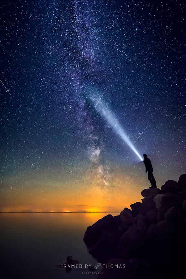 Look beyond the stars by Thomas Mørkeberg on 500px.com