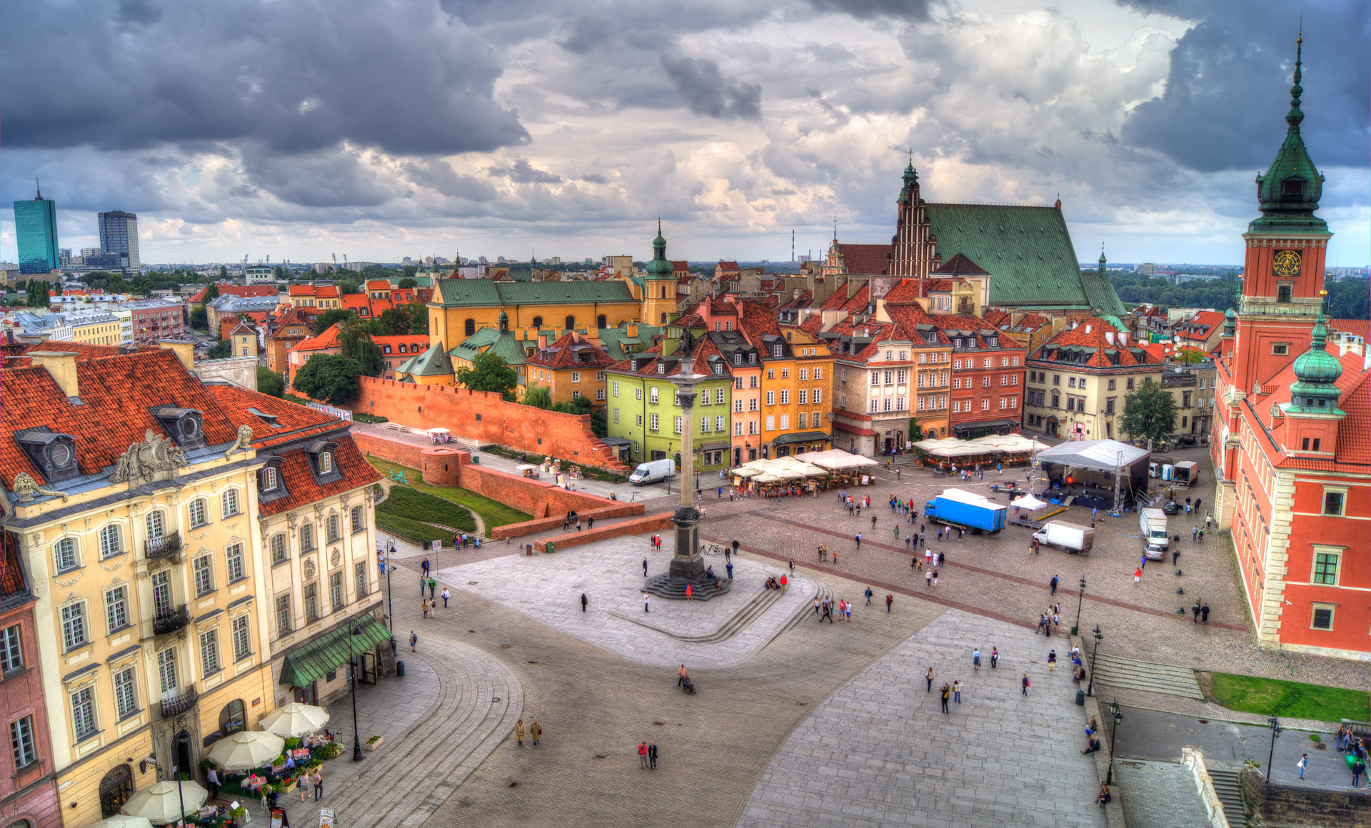 Photograph Old Town in Warsaw by Adam Witeczek on 500px