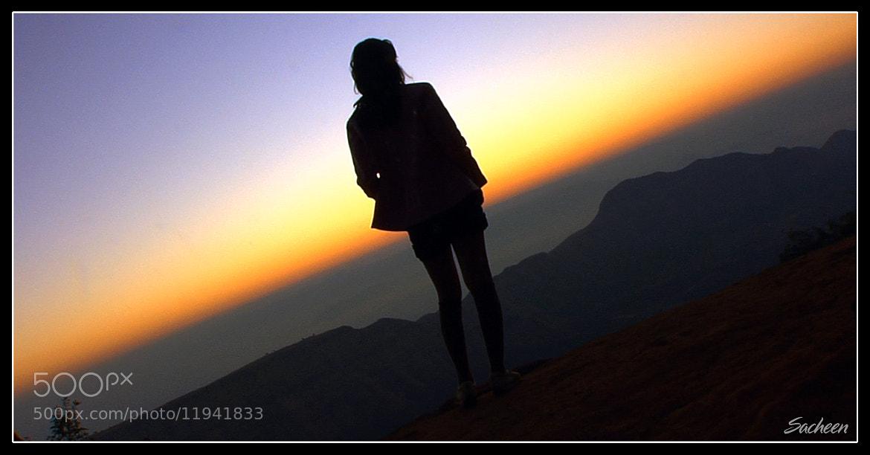 Photograph Lady in dark way by Sacheen Vaidya on 500px