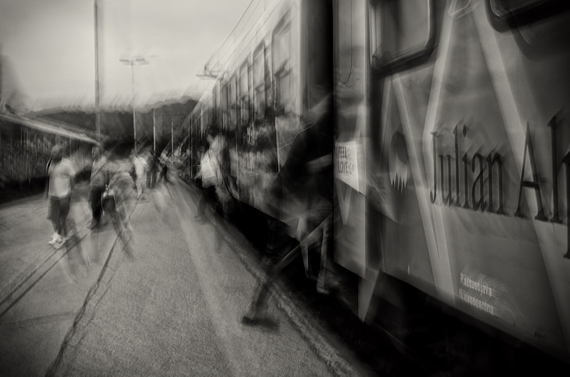 Photograph Confusion at Ghost Train Station by Luka Gorjup on 500px