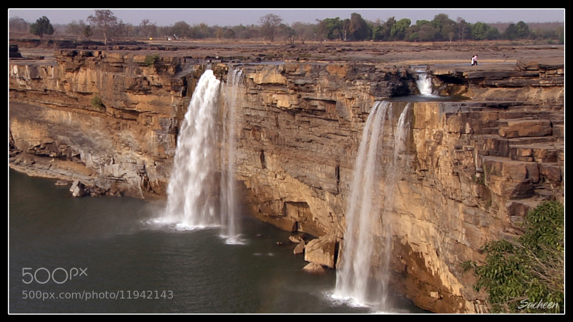 Photograph Waterfall india by Sacheen Vaidya on 500px