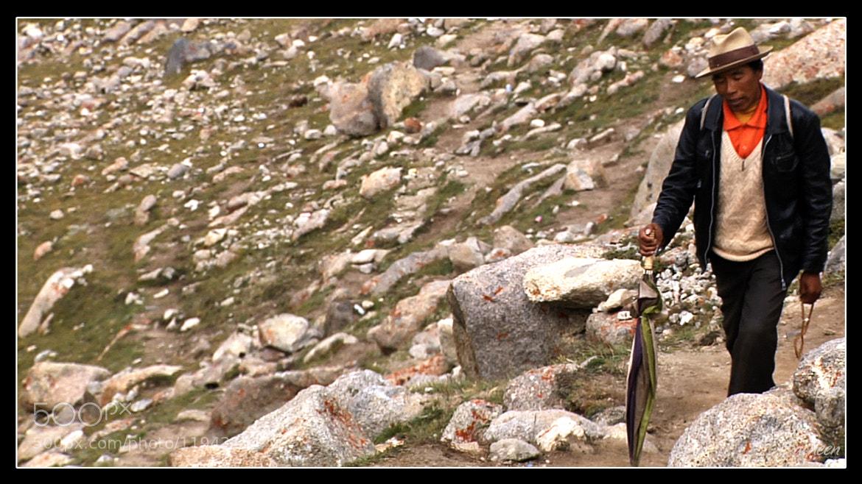 Photograph Man on Mountain by Sacheen Vaidya on 500px