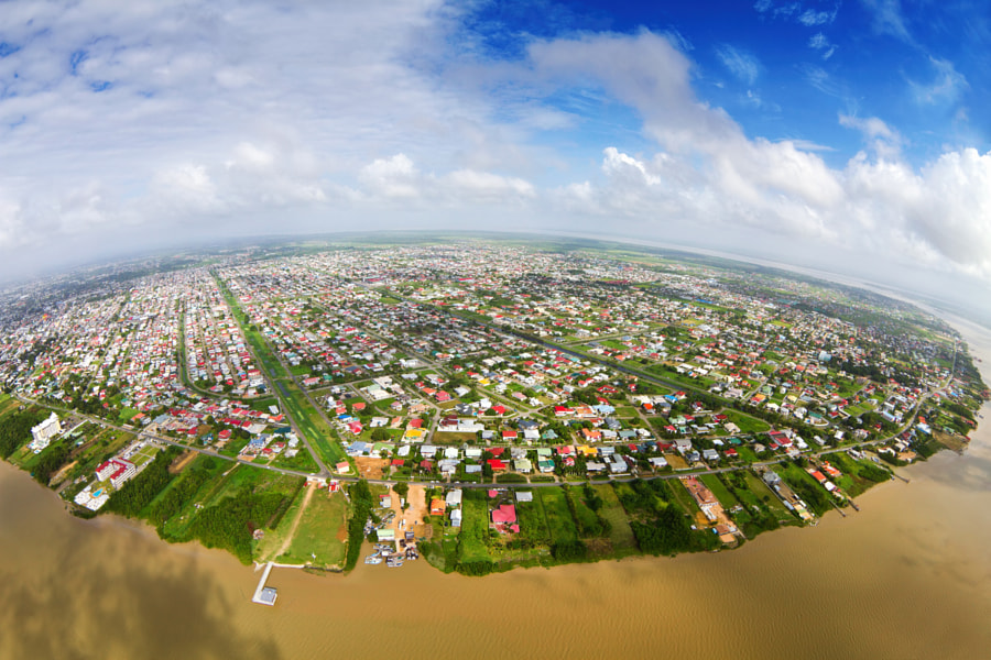 Photograph Paramaribo from the Air by Karel Donk on 500px
