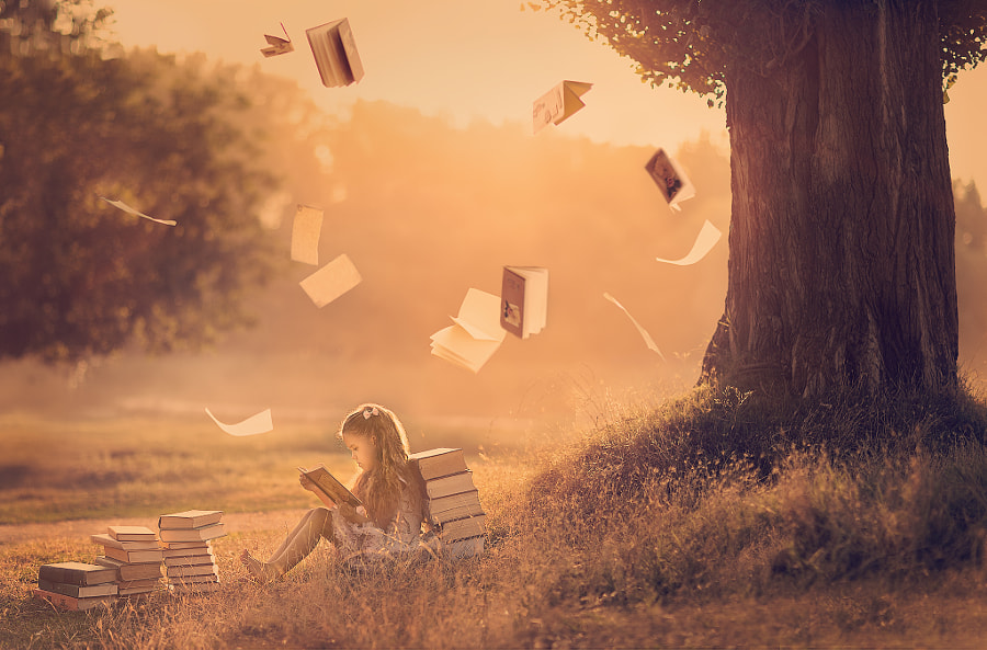 The magic of books by Broquart Photography on 500px.com