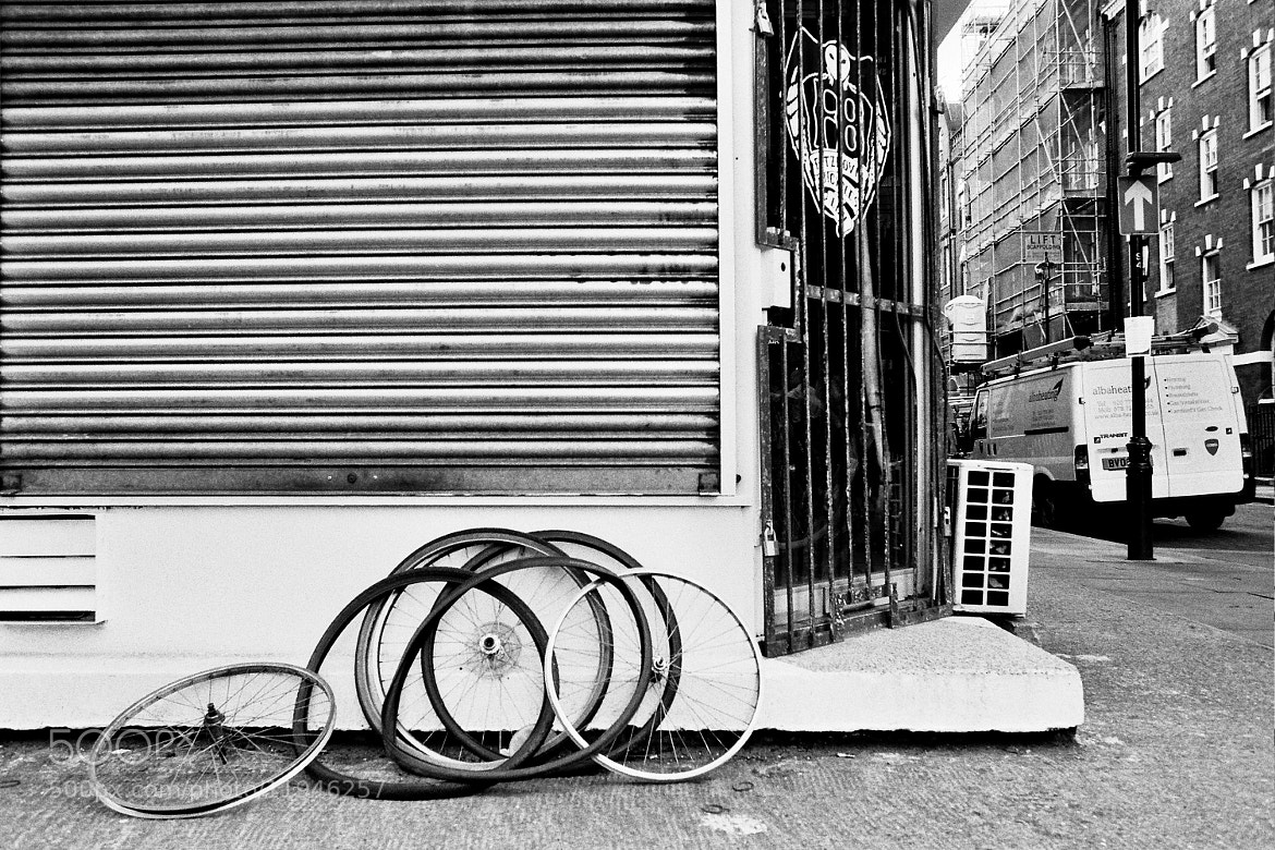 Photograph Unwanted Wheels, London by Christian Hayes on 500px