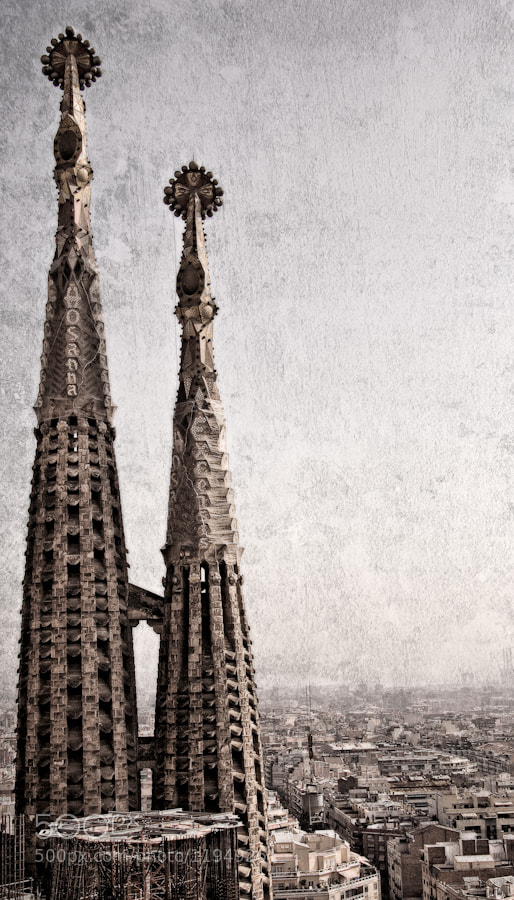 Photograph Sagrada Familia, a view by Enrico Caioli on 500px