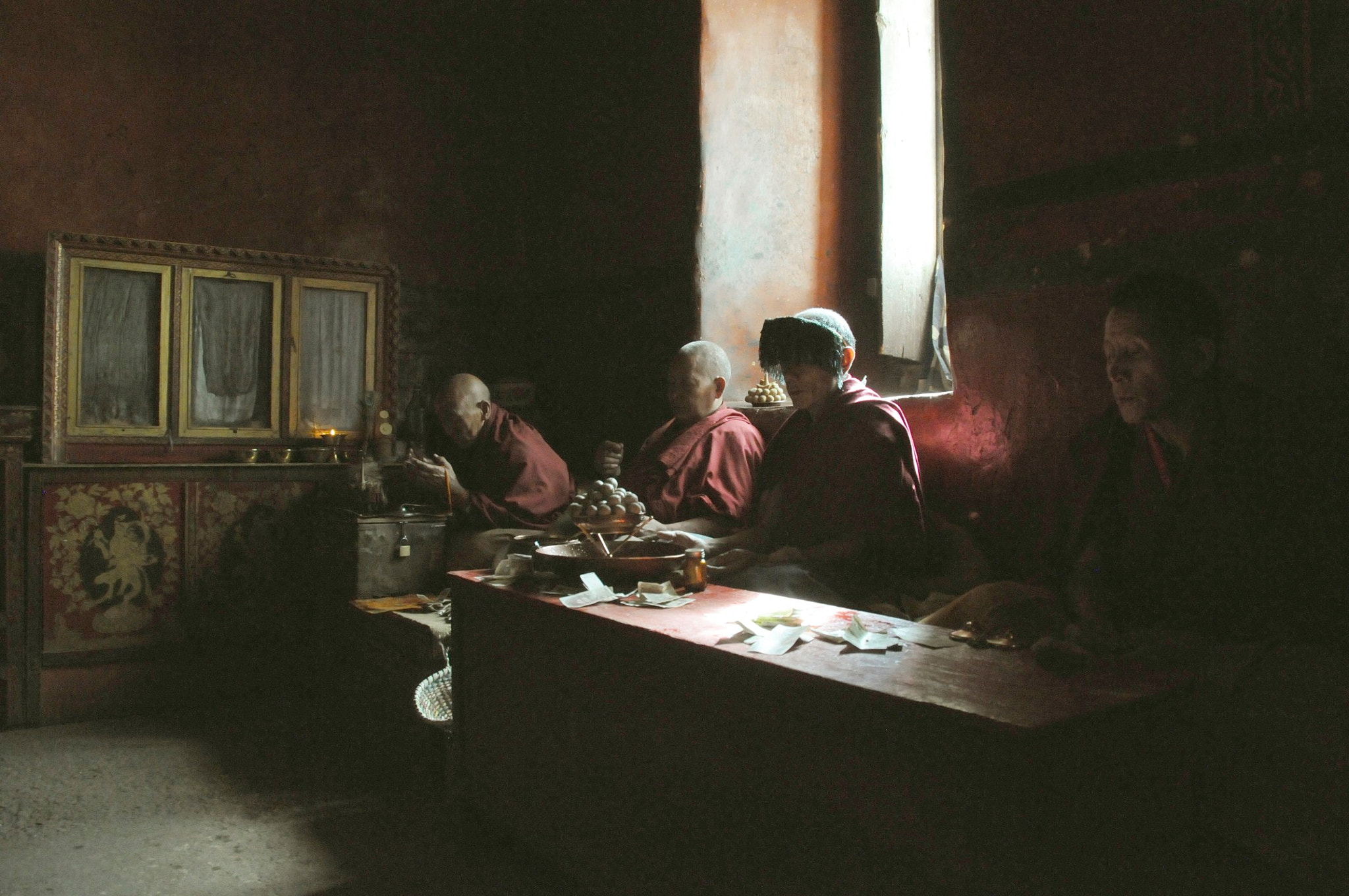 Photograph Monks by Alex van der Lecq on 500px