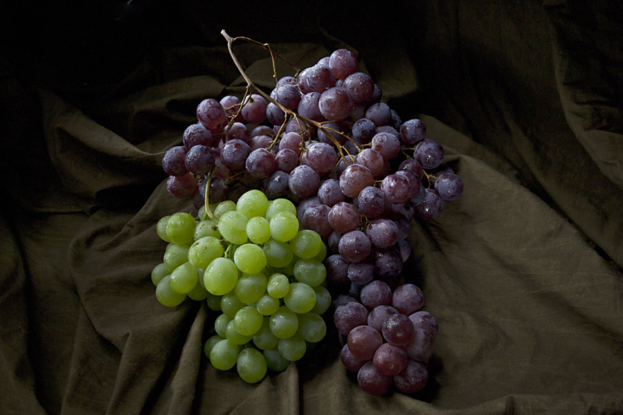 Grapes of different color: Uva Bianca e nera by Marco Ravenna on 500px.com