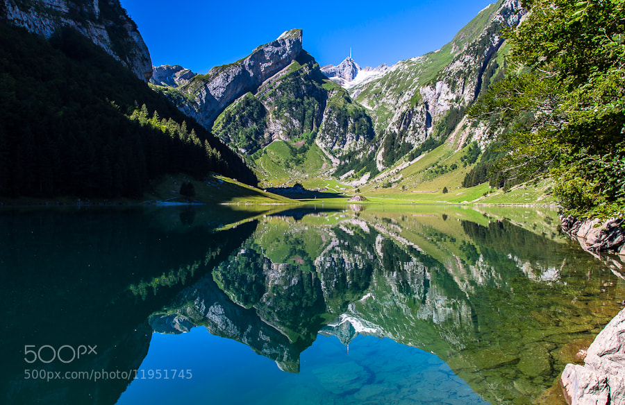 Photograph Mountain Lake by André Boss on 500px