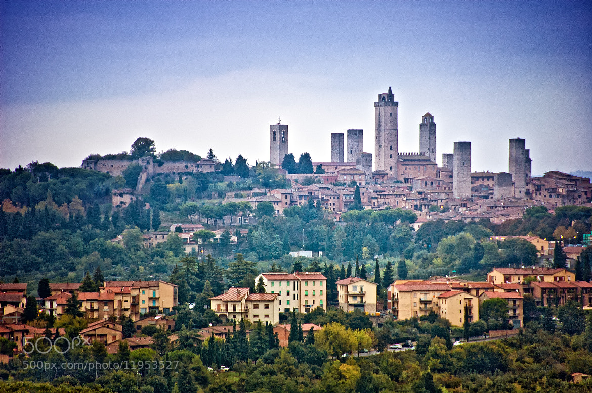 Photograph Village of towers, San Gimignano by Paul Horn on 500px